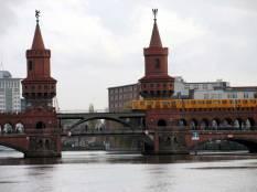 Oberbaumbrücke, Berlin, Bridges, U-bahn